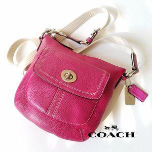 Coach Hamilton Fuchsia Cross Body Shoulder Bag